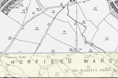 Figure 6: OS Map 2nd Edition, 1894-1903