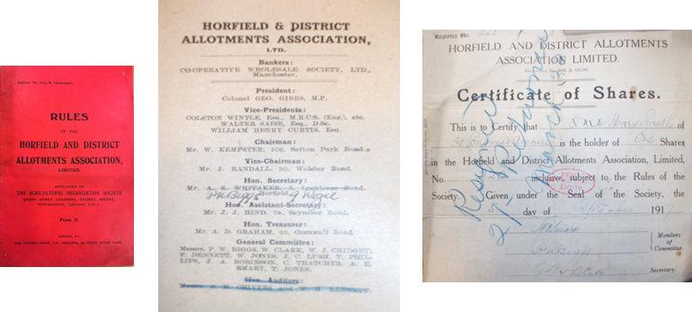 H&DAA Member's rulebook, H&DAA Byelaws, and H&DAA Share Certificate