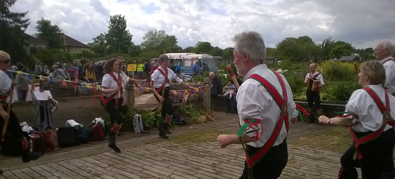 May open day: Morris dancers