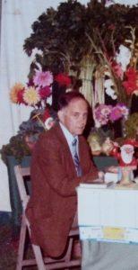 Arthur Clark at Bristol Flower Show