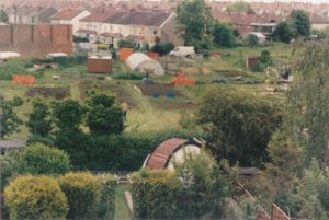 Golden Hill allotment site 1992