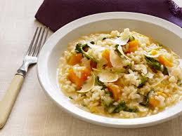 Butternut Squash and Radicchio Risotto